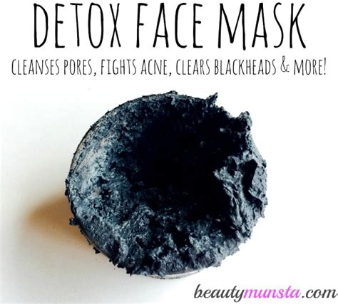 Does Activated Charcoal Detox Through Skin by Bentonite Clay And Activated Charcoal Mask Detox