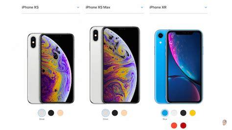 iphone xs vs xs max vs xr succinct comparison helps you better decide designtaxi