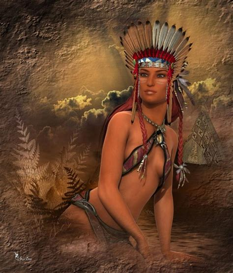 American Indian Home Decor by Native American Woman Abedabun Digital Art By Ali Oppy