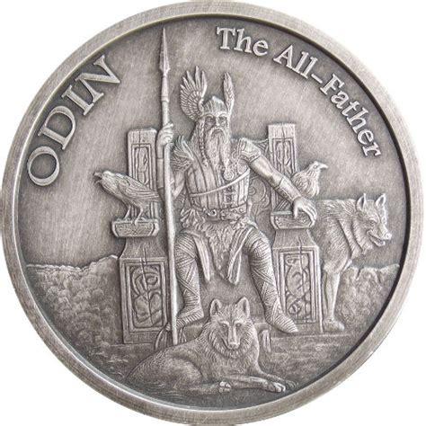 Buy 1 oz Antique Norse God Series Odin Silver Rounds l JM Bullion?