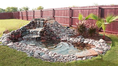 beautiful waterfall ideas for small ponds backyard garden
