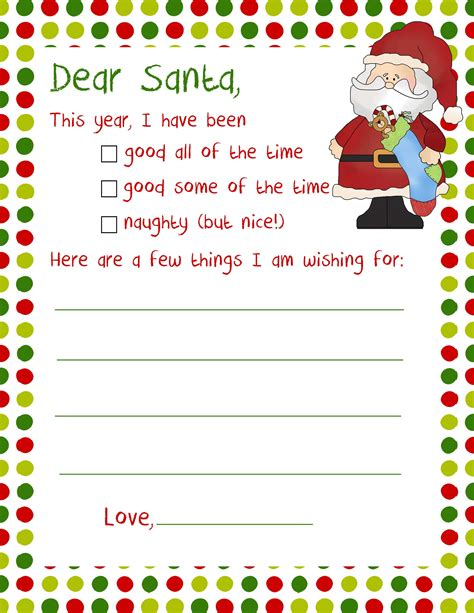 printable christmas letter from santa 20 letters to santa and printable envelopes christmas