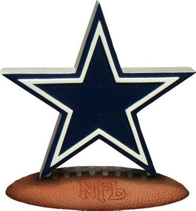 dallas cowboys desk accessories dallas cowboys nfl logo figurine