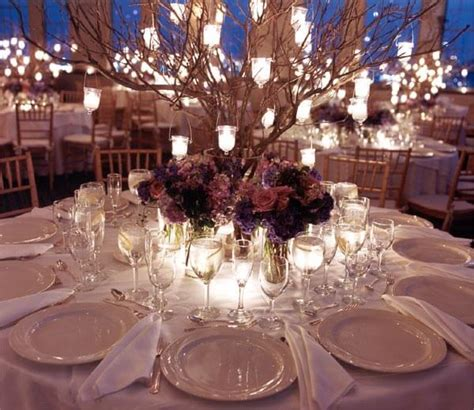tree centerpiece tree centerpieces branches hanging lanterns