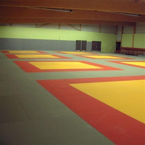 tatami de tatami de judo 4cm coton dessous nu