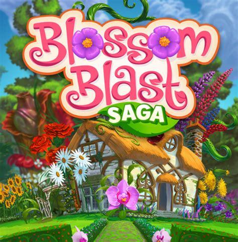blossom blast saga jogo  android  ios