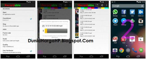 easy screen recorder no root apk cara merekam layar android dengan easy screen recorder