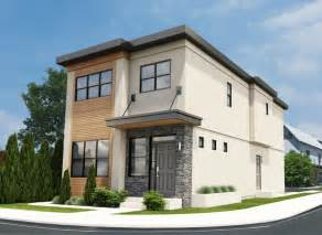 Townhouse Plans Narrow Lot narrow lot contemporary duplex house plan hunters