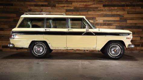 1970 Jeep Wagoneer For Sale 1970 Jeep Wagoneer Sj 4wd J 100 Kaiser 81k 350 V8 At 66