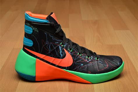 nike hyperdunk 2015 premium shoes basketball sil lt