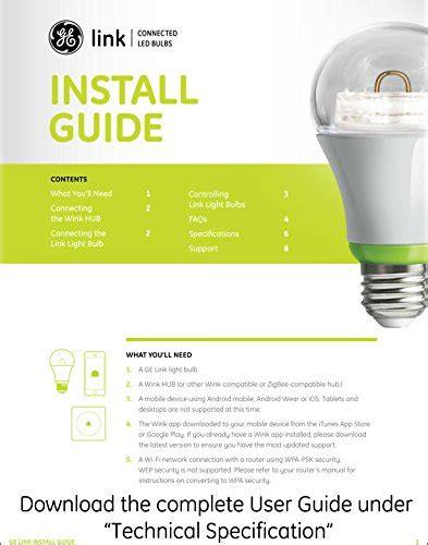 ge link smart led light bulb ge link smart led light bulb a19 white 2700k 60