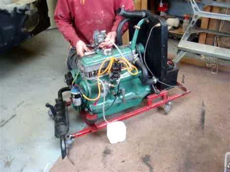 renault dauphine engine 4cv engine starting youtube