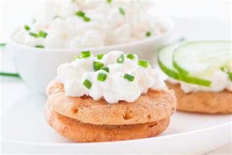 Cottage Cheese Crackers by Ways To Enjoy Your Afternoon Snack