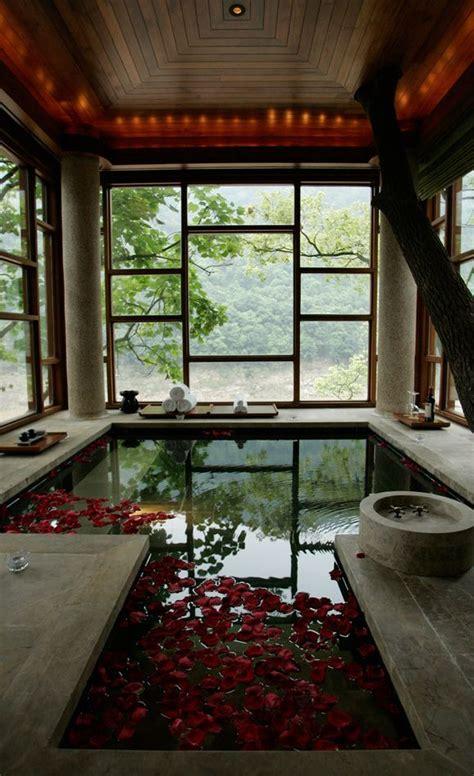 upper story bathing pool  images zen house luxury