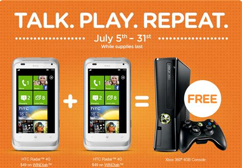 wind mobile promotions deal wind mobile offers free xbox 360 console with