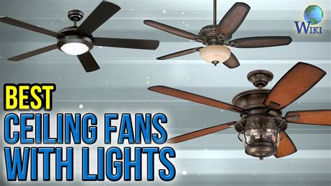 10 best ceiling fans with lights 2017 youtube