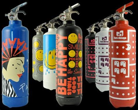 decorative fire extinguisher these fire extinguishers may actually complement your home