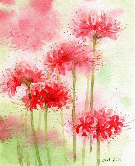 watercolor artist tutorial 25 best ideas about watercolor flowers tutorial on
