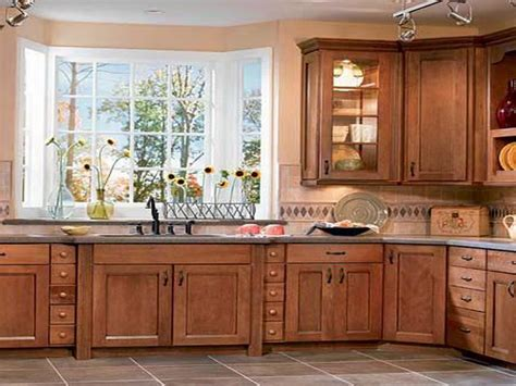 bloombety modern kitchen design with oak cabinets