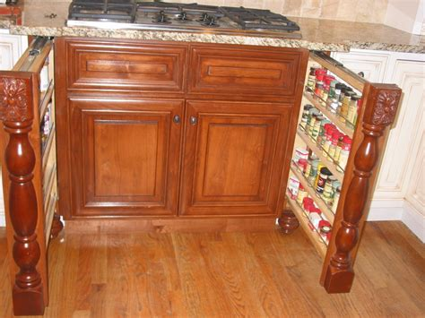 Under The Cabinet Spice Rack Hidden Spice Racks Under Cooktop Cabinet By Jcwoodworker