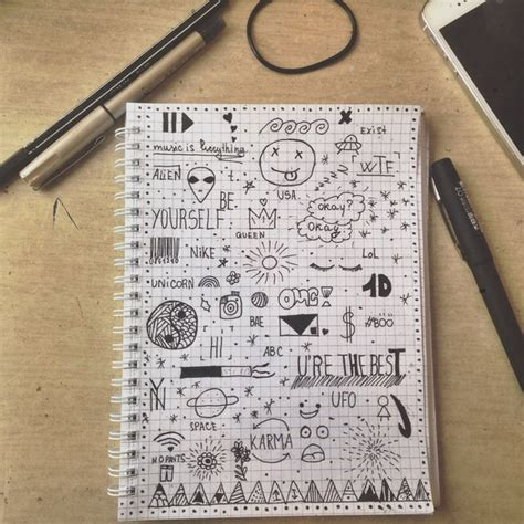 cool pen doodles by me image 3753381 by helena888 on favim