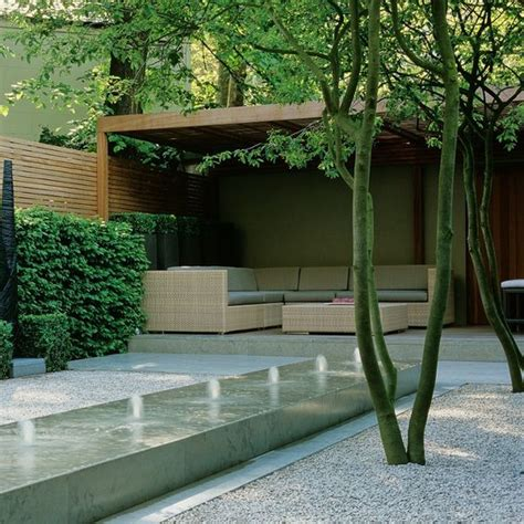 water features gardens and minimalist garden on
