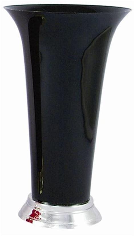 Plastic Trumpet Vases by Plastic Trumpet Vase Black