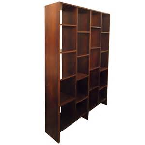 Room Divider Bookshelves Rosewood Room Divider Bookshelf At 1stdibs