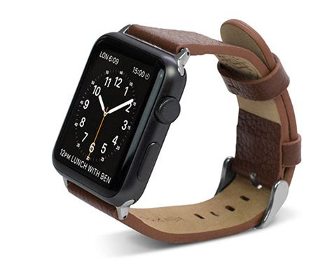 Apple Genuine Leather 42mm38mm Band By X Doria Coklat this week in accessories apple band from x