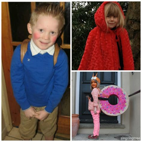 DIY World Book Day Costume ideas for school   Mum In The