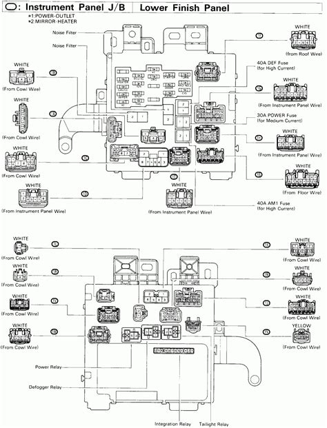 1998 toyota t100 radio wiring diagram wiring diagrams