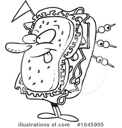 chicken sandwich coloring page free sandwich shop clipart clipart suggest