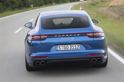 porsche back 2017 porsche panamera 4s first drive review automobile