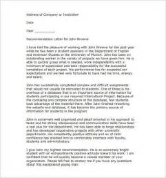 cover letter templates for students recommendation letter for best student cover letter