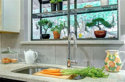 kitchen garden window ideas how to style a garden window