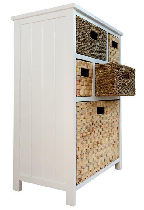 Storage Basket Drawers by Tetbury Storage Unit Large Chest Of Drawers Storage Baskets Fully Assembled Ebay