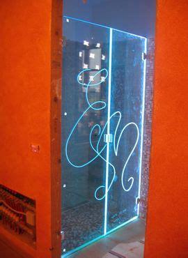 illuminazione box doccia artevetro le trasparenze della luce