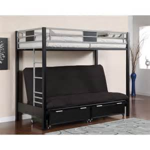 Metal Futon Bunk Bed Futon Bunk Bed Plans