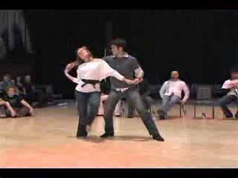 west coast swing video lessons west coast swing tessa ben youtube