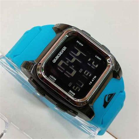 Jam Tangan Quicksilver Crono Detik jual jam tangan quicksilver r 522 digital tali rubber
