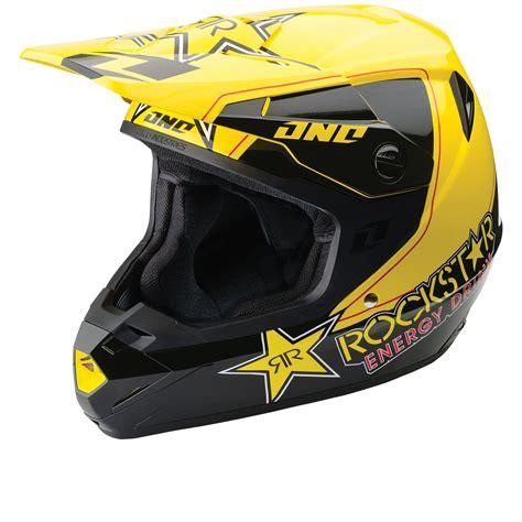 rockstar motocross helmets one industries atom rockstar motocross helmet clearance