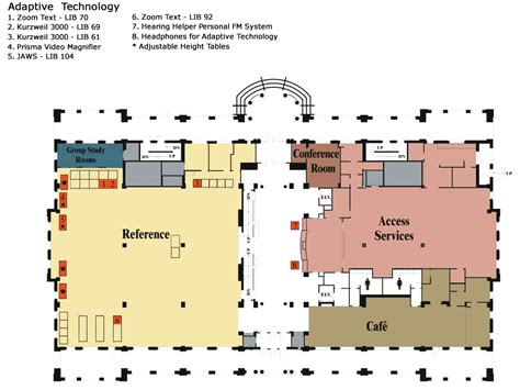 Floor Location by Library Maps Floor Plans Library