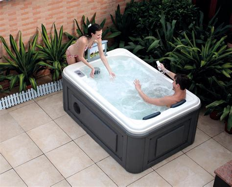 outdoor tub spa backyard design ideas