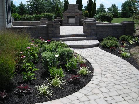 Entranceway Landscaping Ideas Landscaping Ideas View Our Work Landscape Entrance To