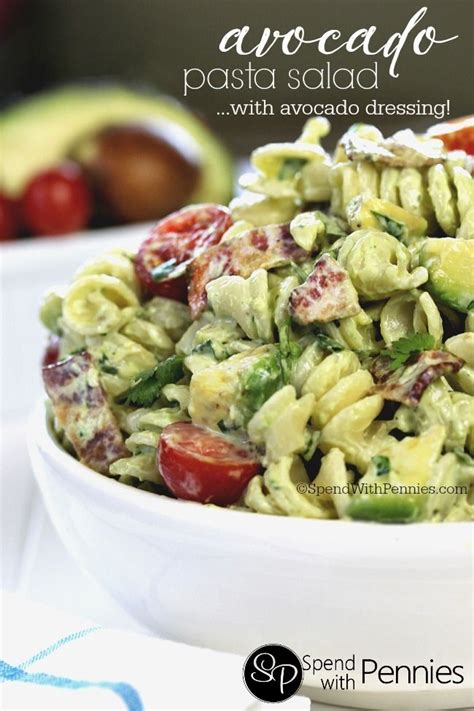pasta salad recipe cold best 25 creamy avocado pasta ideas on pinterest healthy