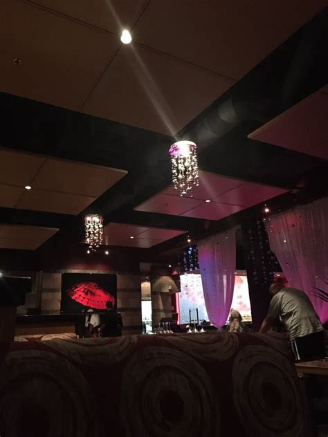 geisha house las vegas geisha house point of view from our booth love the picture painting yelp