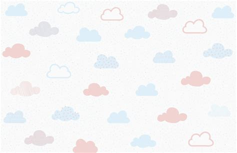 pastel pattern wallpaper soft pastel cloud pattern wall mural murals wallpaper