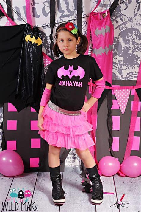 Bat Ee  Birthday Ee   Shirt Hot Pink And Black Superhero