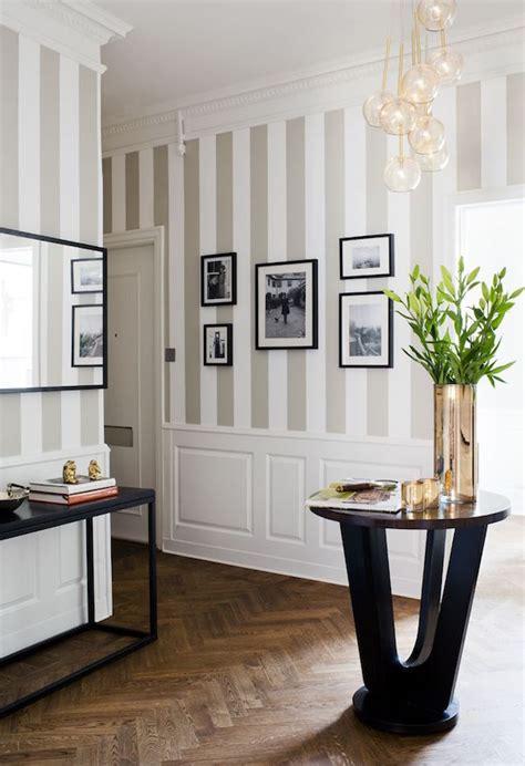 Dining Room Chair Rail Ideas by Osare Con Le Pareti A Strisce