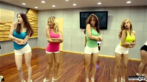 tutorial dance touch my body sistar touch my body dance practice mirrordv youtube